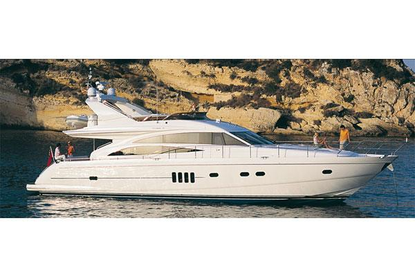Princess 67 Flybridge Manufacturer Provided Image: Exterior View 2