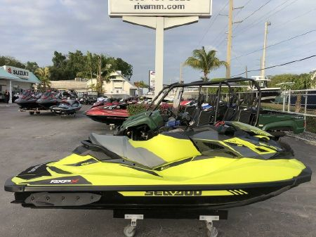 2019 Sea-Doo RXP®-X® 300 Neon Yellow and Lava Grey, Miami Florida