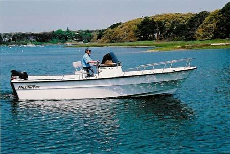 Maritime Skiff 20 Defiant Manufacturer Provided Image: 23 Defiant shown.
