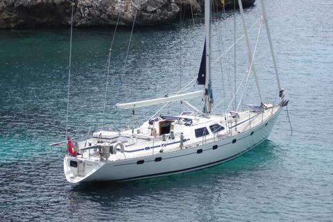 Oyster 55 Sail