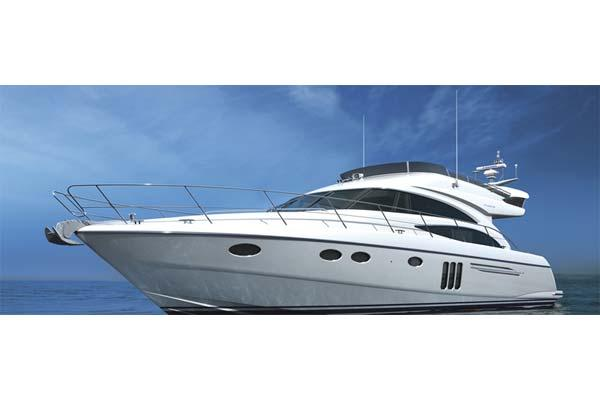 Princess 58 Flybridge Manufacturer Provided Image