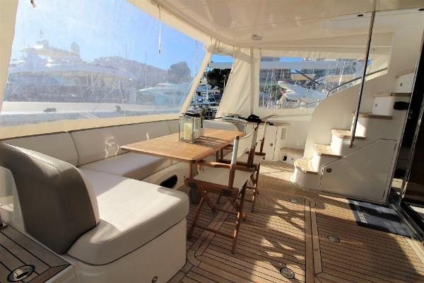 Princess 60 Motor Yacht Aft Deck