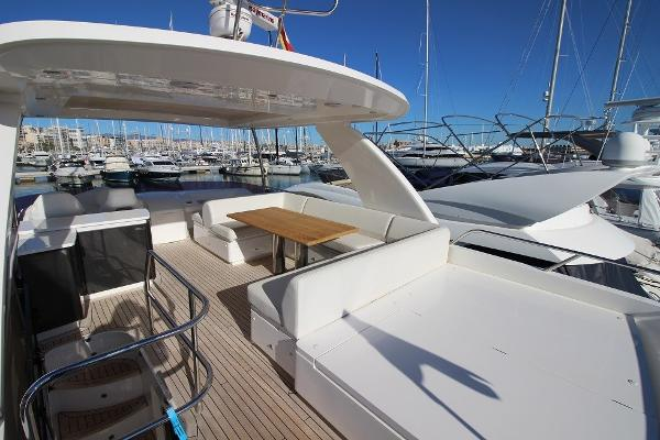 Princess 60 Motor Yacht Flybridge