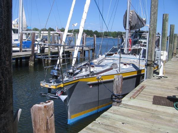 Aluminum Cruiser Expedition Sailing Vessel 53
