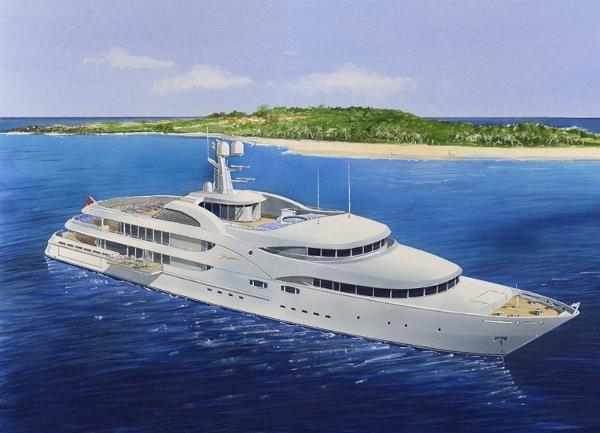 Altinel Shipyards 65M Mega Yacht