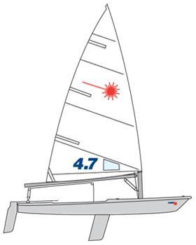 Laser Race 14 ft. Laser 4.7