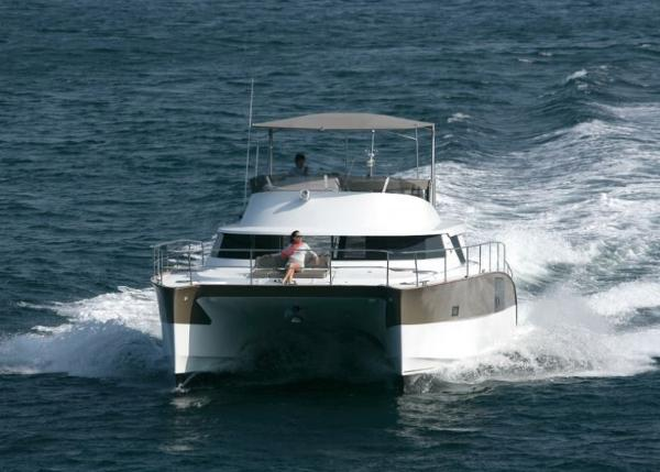 Fountaine Pajot Cumberland 47 LC Hull
