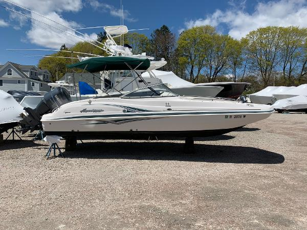 Hurricane SunDeck 237 DC OB Hurricane SD237OB Sundeck For Sale Used Ocean House Marina