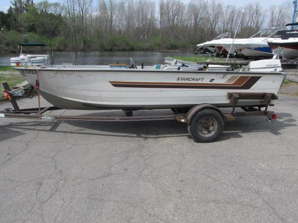 Used aluminum fish starcraft boats for sale for Used aluminum fishing boats for sale in michigan