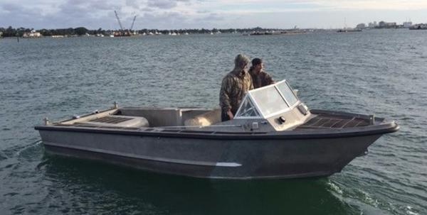 Seaark Aluminum Work Boat