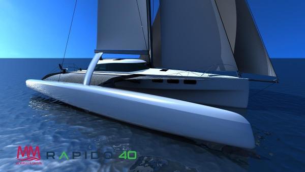 Rapido 40 Rapido 40 Trimaran, designed by Morrelli & Melvin, built by Triac Composites.