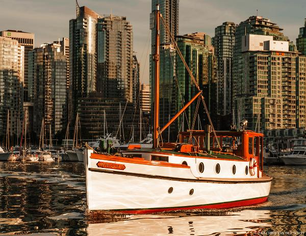 Vancouver Shipyard Double Ended Underway