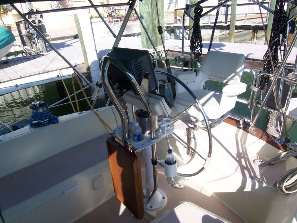 Helm (looking aft)