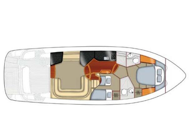 Standard 2 cabin layout