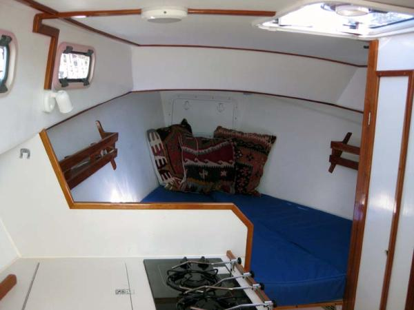 Looking from Galley into V-Berth Area