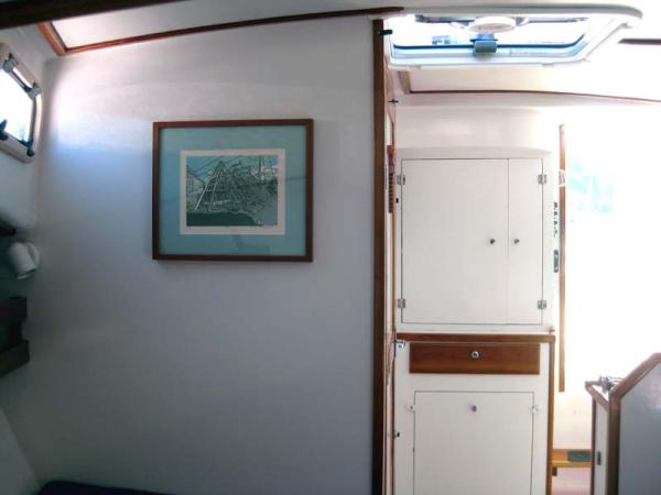 Starboard Aft Corner of Interior