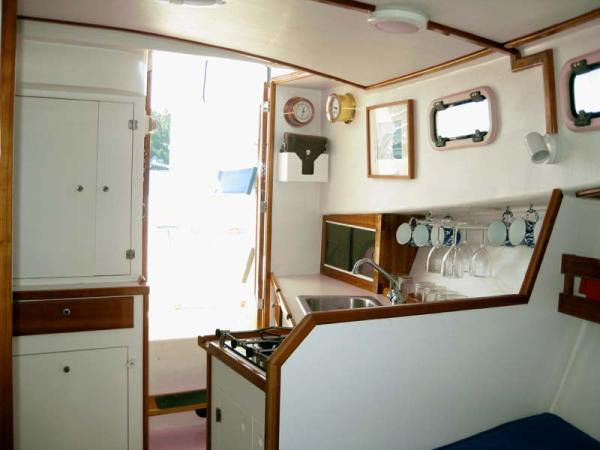 Port Aft Corner of Interior