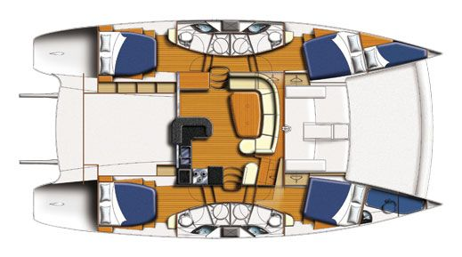 Moorings M474PC Layout