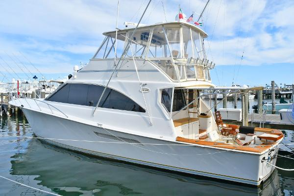 Ocean Yachts 56 Super Sport Port Side