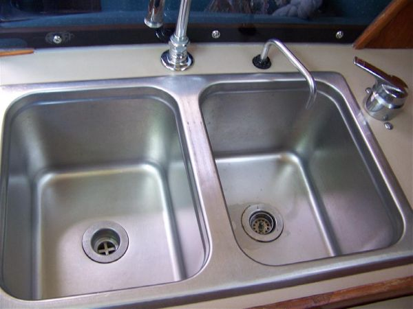 Really Clean Deep Double Sink