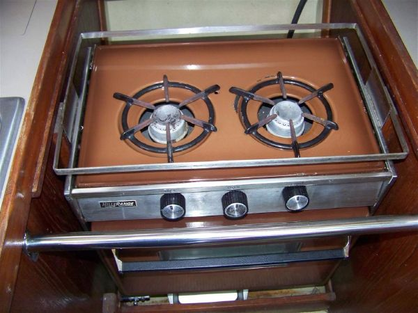 Clean Stove Top