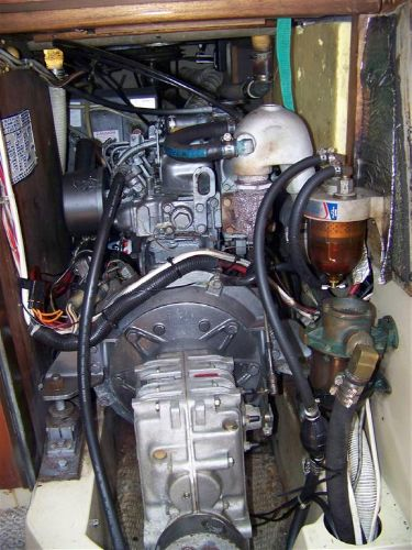 Engine and Transmission Front