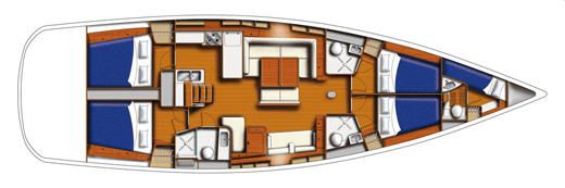 Moorings M54.5 Layout