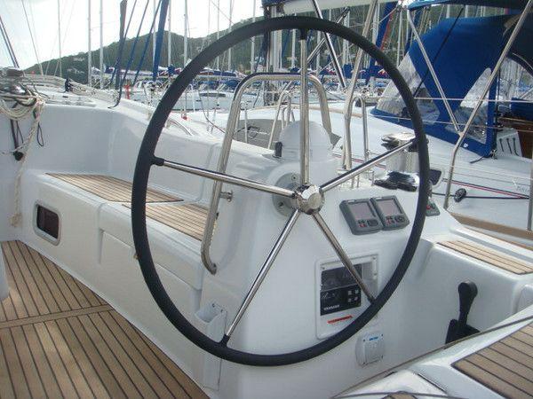 Moorings M54.5 Steering