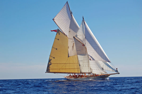 William Fife III Gaff Rig Schooner Photo 1