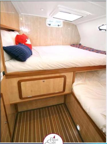 Guest Cabins, starboard and port aft