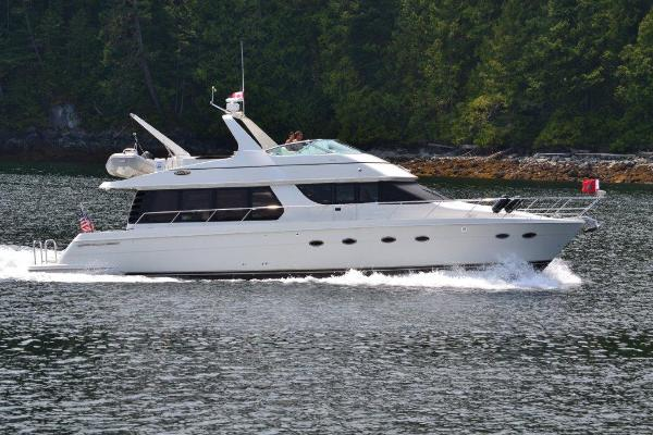 Carver 570 Voyager Pilothouse Final Destiny