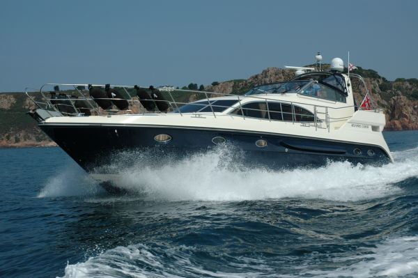 Atlantic 50 Roca underway at Sea