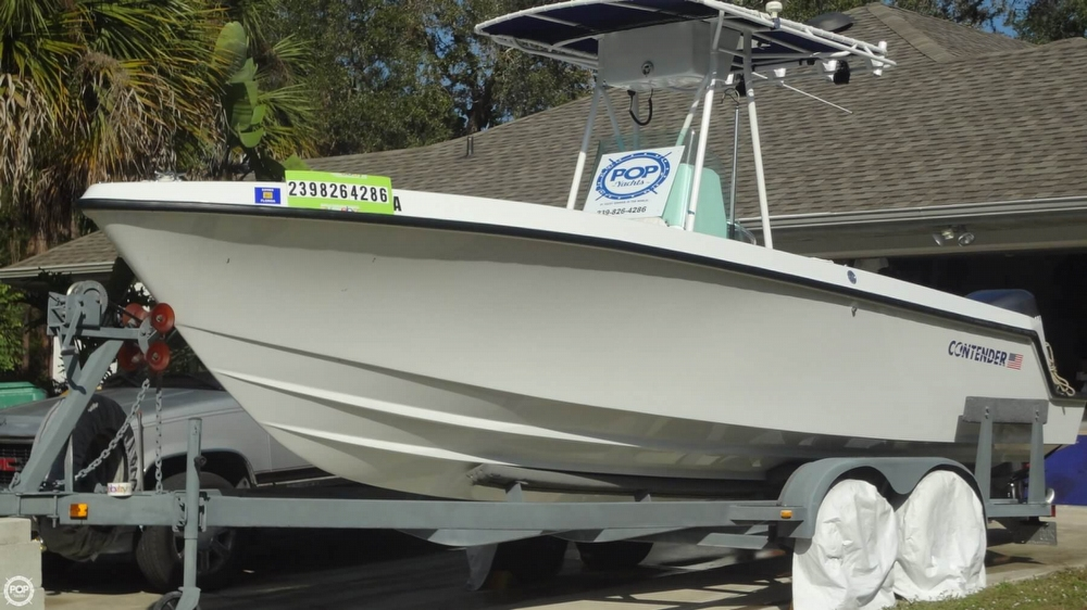 Contender 23 Open (Restored) 1996 Contender 23 Open for sale in Port Charlotte, FL