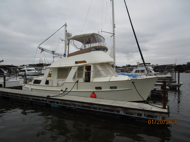 "Pacific Seacraft ""38"" Fast Trawler"