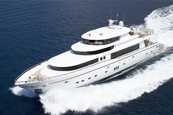Johnson Superyacht Tri-Deck