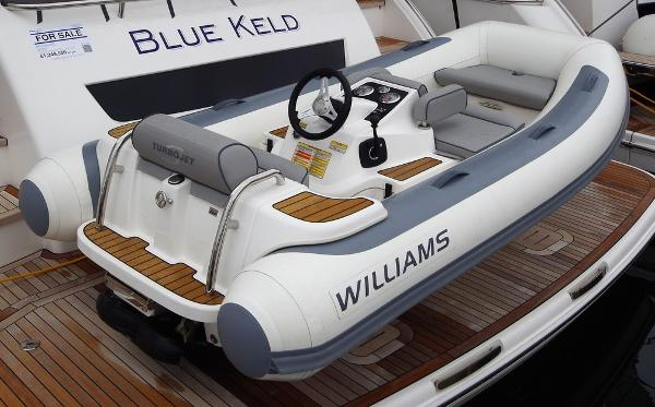 Williams Jet Tenders Turbojet 325 Sport 100 HP