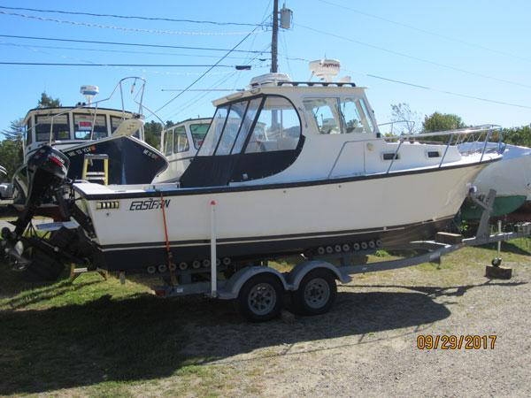 Eastern 27' Downeast lobster yacht