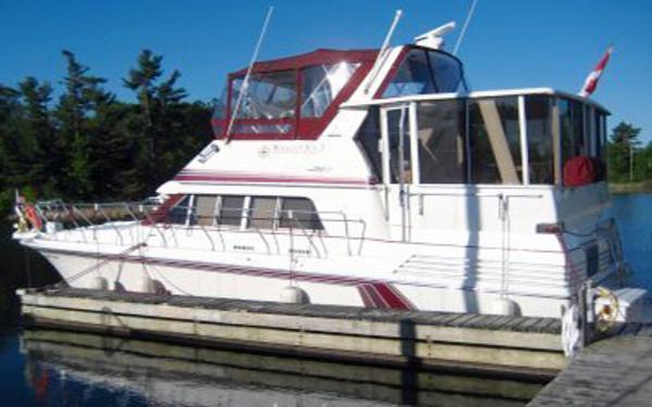 Trojan 12 Meter Motor Yacht Port Profile