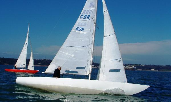 Etchells Keelboat (fleet of 3) Etchells keelboats