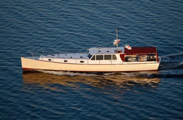 Nigel Irens 63' Modern Classic Motor Yacht
