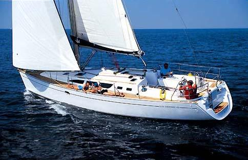 Jeanneau Sun Odyssey 43 Manufacturer Provided Image: Sun Odyssey 43