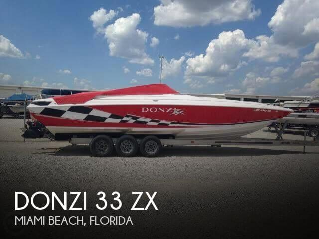 Donzi 33 Zx 1999 Donzi 33 ZX for sale in Miami Beach, FL