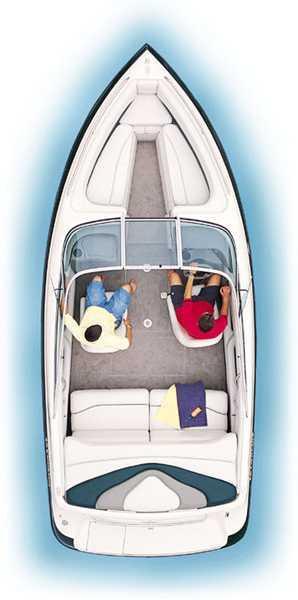 Crownline 202 BR Manufacturer Provided Image: 202 BR Overhead