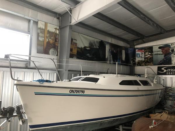 Catalina 250 Water Ballast
