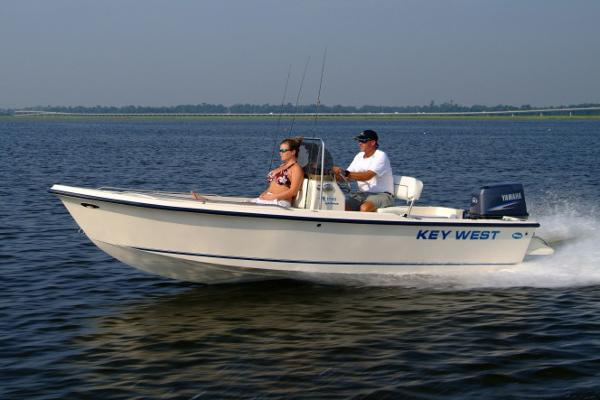 Key West 1720 Center Console Manufacturer Provided Image