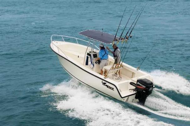 Bred to run, the MAKO 212 boasts more room for fishing.