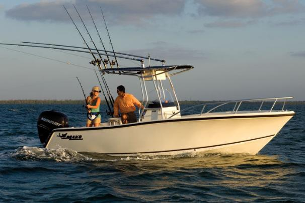 This boat is 21 feet, 5 inches of fishing features and fun.
