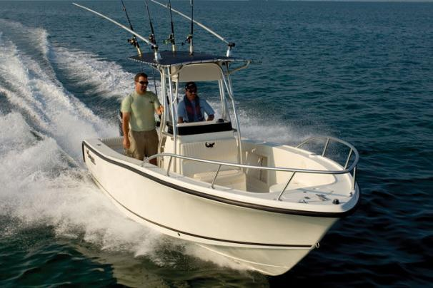 Easily cut through the waves and chop as you cruise to that next fishing spot.