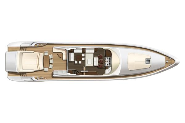 Azimut 86S Main Deck
