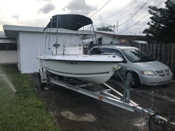 Sea Boss 170 Center Console